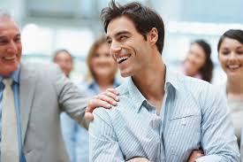 Pan Atlantic | Laughing successful businessman