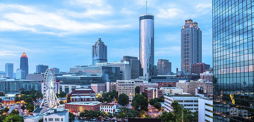 Pan Atlantic | Atlanta city skyline