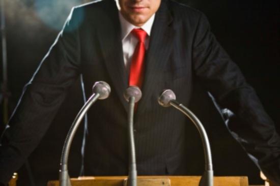 Pan Atlantic | Man giving a speech